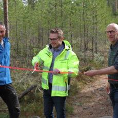 Åpning av skiltsti i Mosjømarka