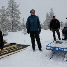 Gapahuk på Klekkefjellet og Savalsæterhøgda